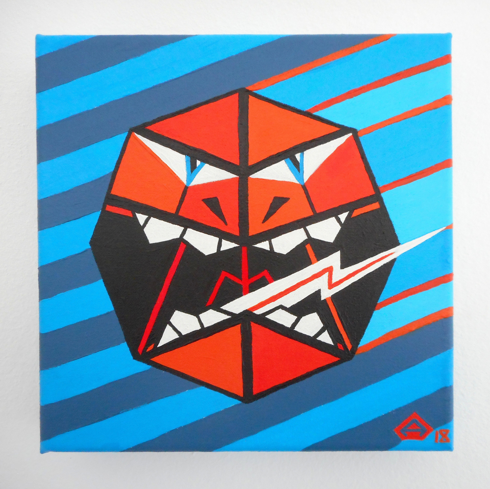 Angular paintings